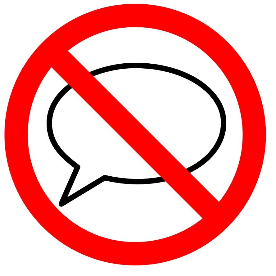 divieto di parola