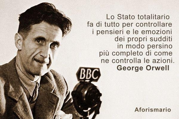 orwell stato totalitario