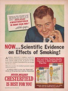pubblicità ingannevole sigarette