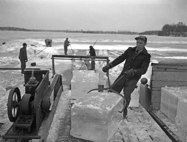 trasporto del ghiaccio